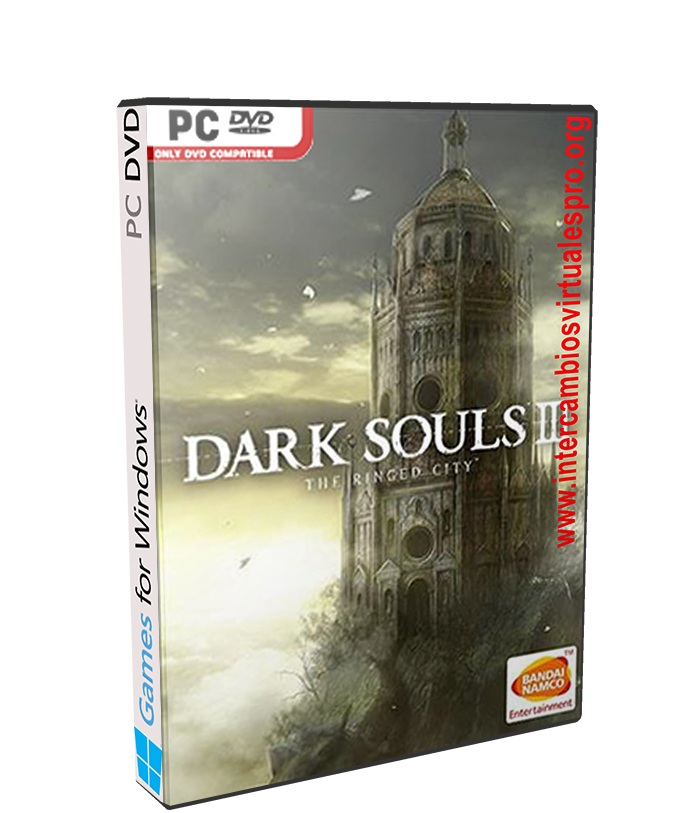Dark Souls III The Ringed City poster box cover