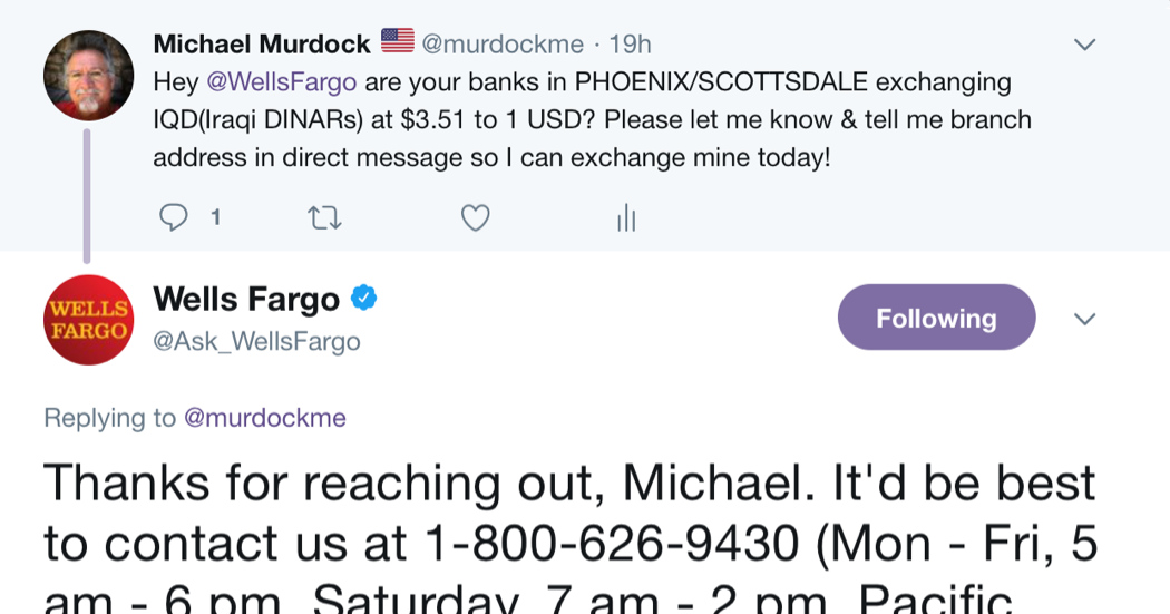 Wells Fargo From The Horse S Mouth By Michael Murdock 1 3 18 Intel