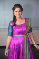 Shilpa Chakravarthy in Purple tight Ethnic Dress ~  Exclusive Celebrities Galleries 053.JPG