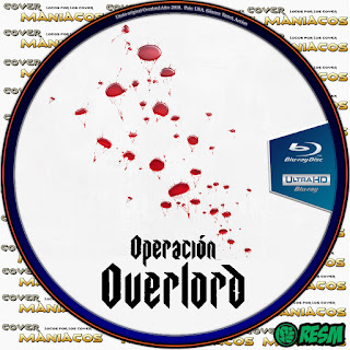 GALLETA OPERACION OVERLORD - OVERLORD - 2018 [COVER DVD]