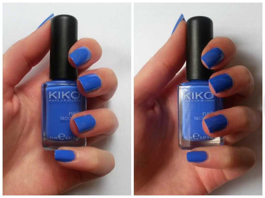 TAG Crazy about nail polish bleu électrique 385 kiko