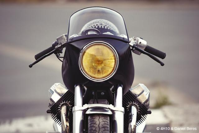 Moto Guzzi By 4H10 Hell Kustom