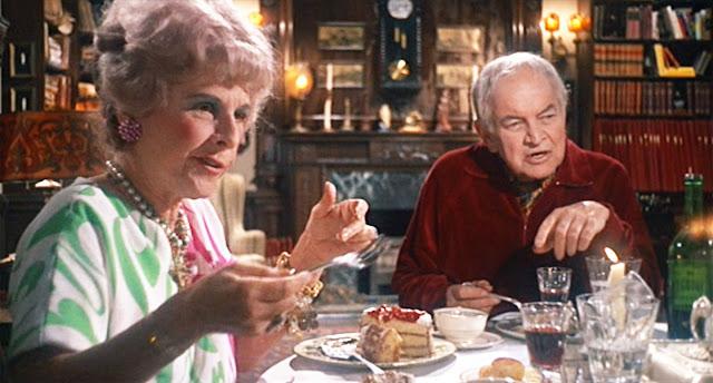 Ruth Gordon et Sidney Blackmer (Minnie et Roman Castevet) dans Rosemary's baby de Roman Polanski (1968)
