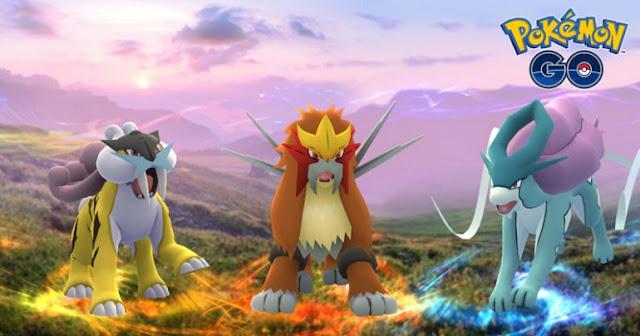 Pokémon GO libera a los perros legendarios y... ¿3 vs 3 escondido en el código?
