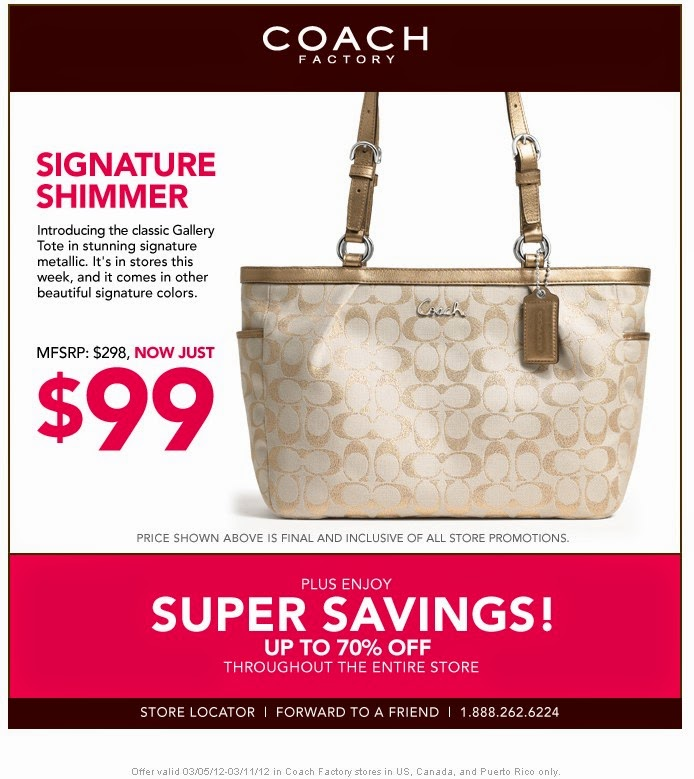 Coach outlet printable coupon september 2018 : Coupon lax