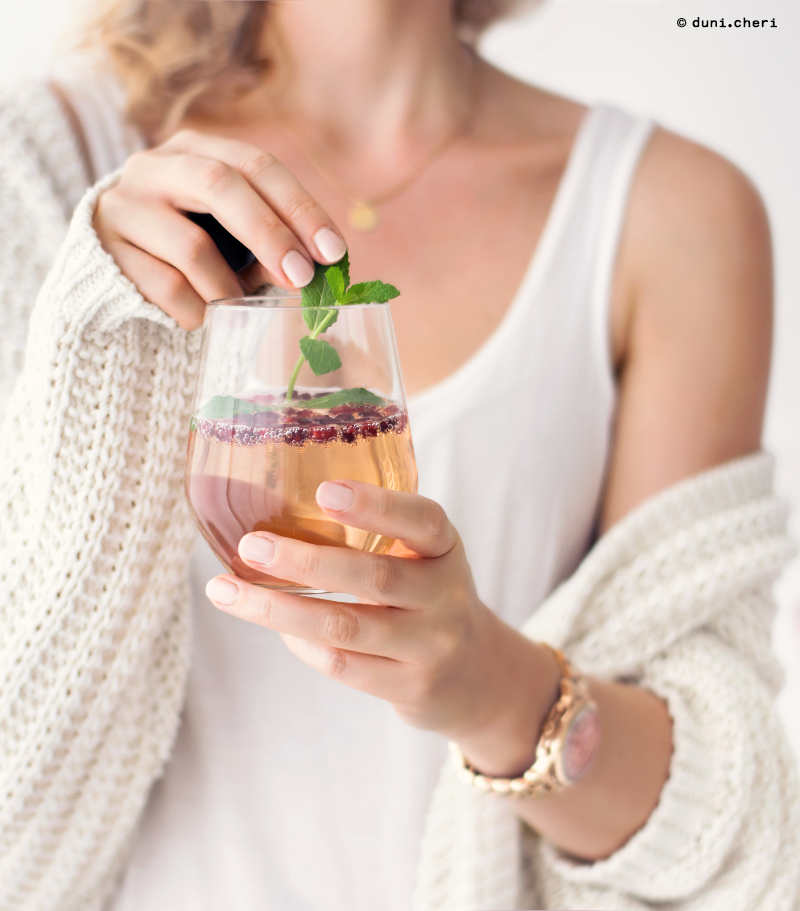 granatapfel rezept drink alkoholfrei
