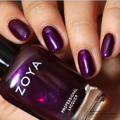Nail polish swatch and review of Zoya Isadora from the Winter 2017 Party Girls collection