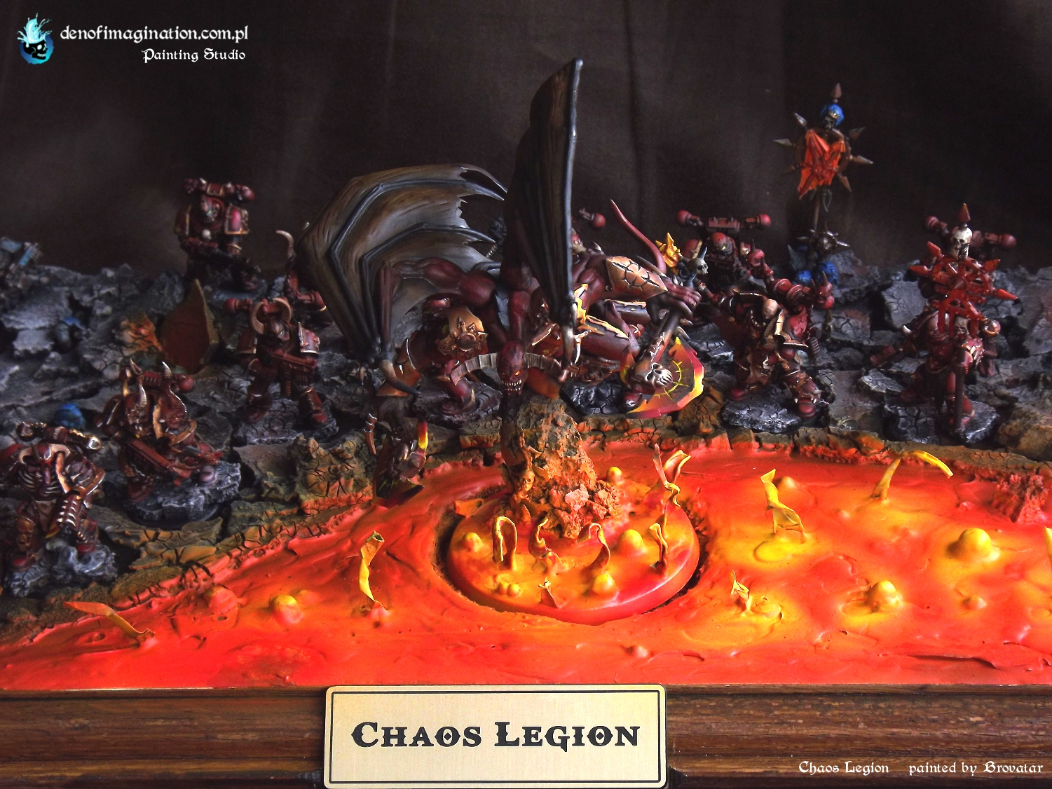 Blog Khorne Week #8 Lake of Fire