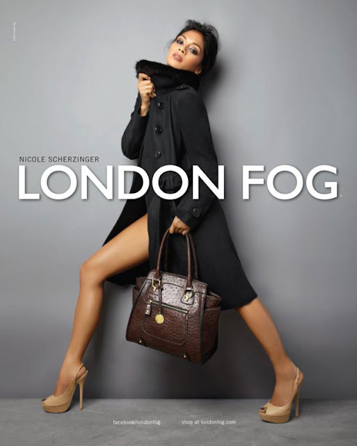 Nicole Scherzinger for London Fog AW 12