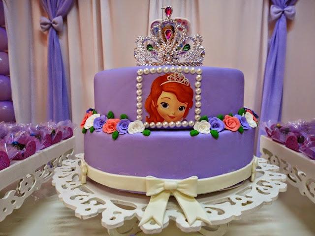 Bolos Fake (cenográfico) Princesa Sofia para Festa Infantil