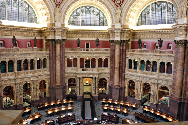 The Library of Congress - Washington, D.C. - Tori's Pretty Things Blog
