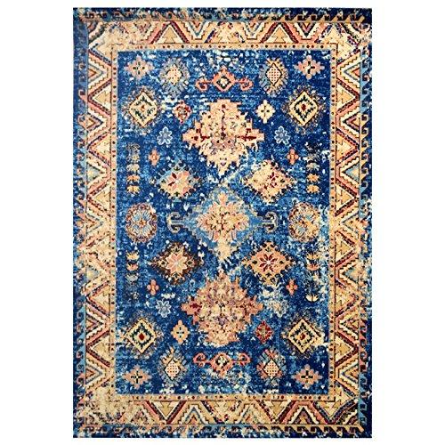 Tapis/Style Ethnique Salon Chambre Chevet, 133cm × 190cm
