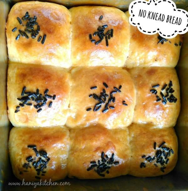 Resep Roti Empuk dan Lembut Tanpa diuleni (No knead bread)
