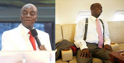 """""""We have been flying jet before you went to school, control your jealousy,"""" — Bishop Oyedepo"""