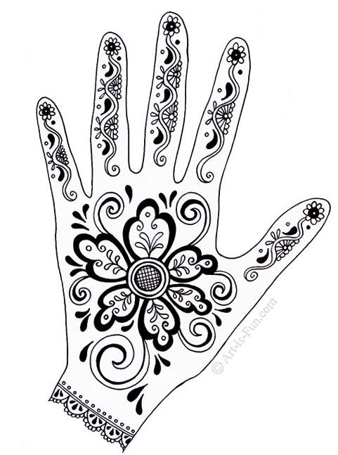 Cara Melukis Henna Sendiri Dengan Sangat Mudah Bagi Pemula Henna Tato