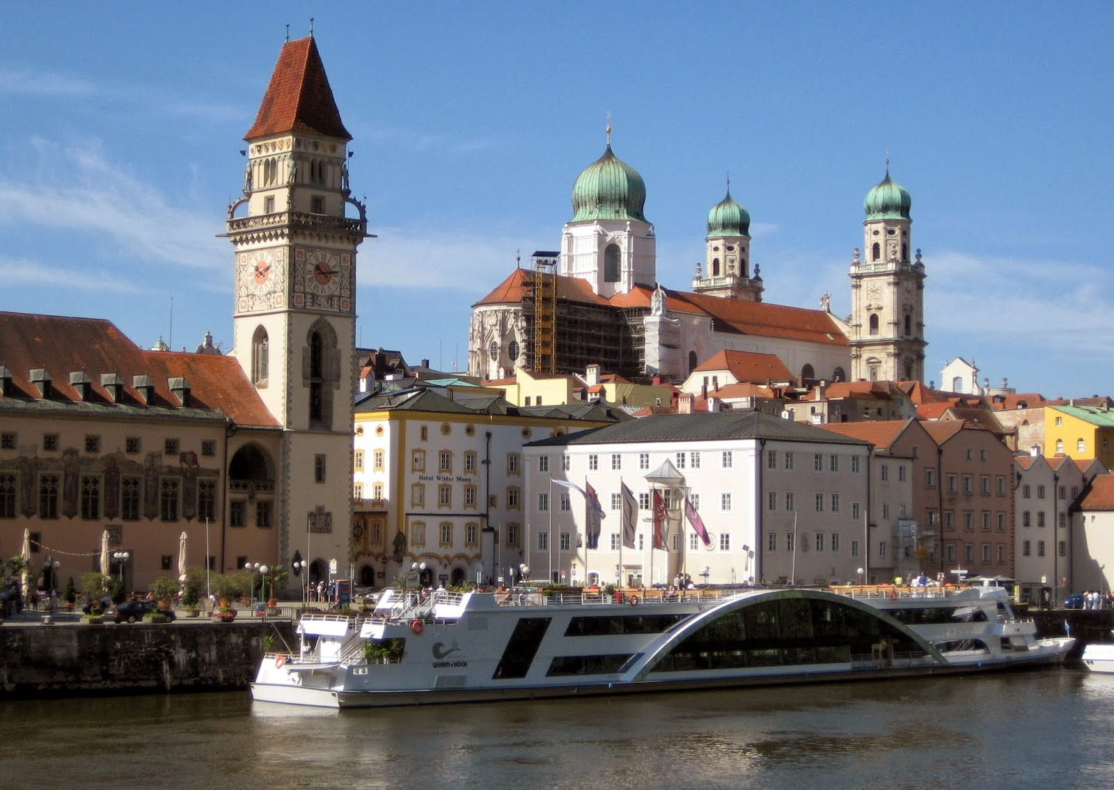 Welcome to Passau, Germany—our first stop on our Viking River Cruises' 'Danube Waltz' from Germany to Hungary. Photo: WikiMedia.org.