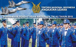 Informasi Penerimaan Terbaru TNI Angkatan Udara Tahun 2016