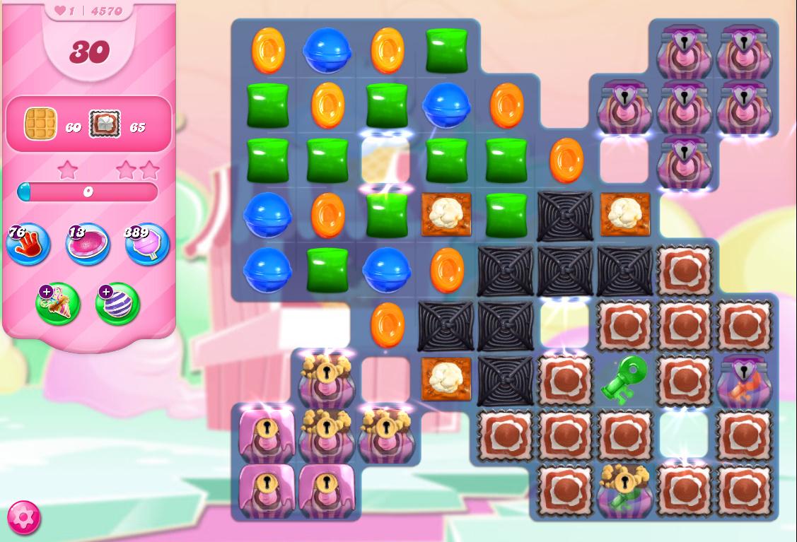 Candy Crush Saga level 4570