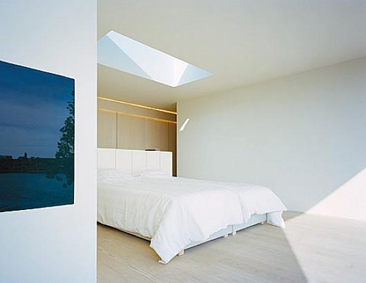 Moderna y minimalista casa de verano en Malmo Suecia
