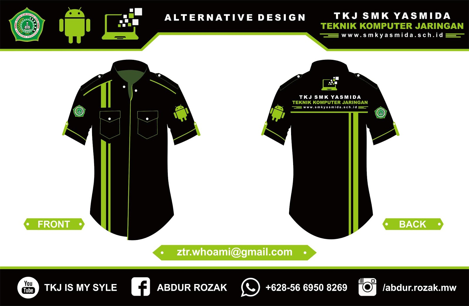 730+ Desain Baju Wearpack Keren Terbaru