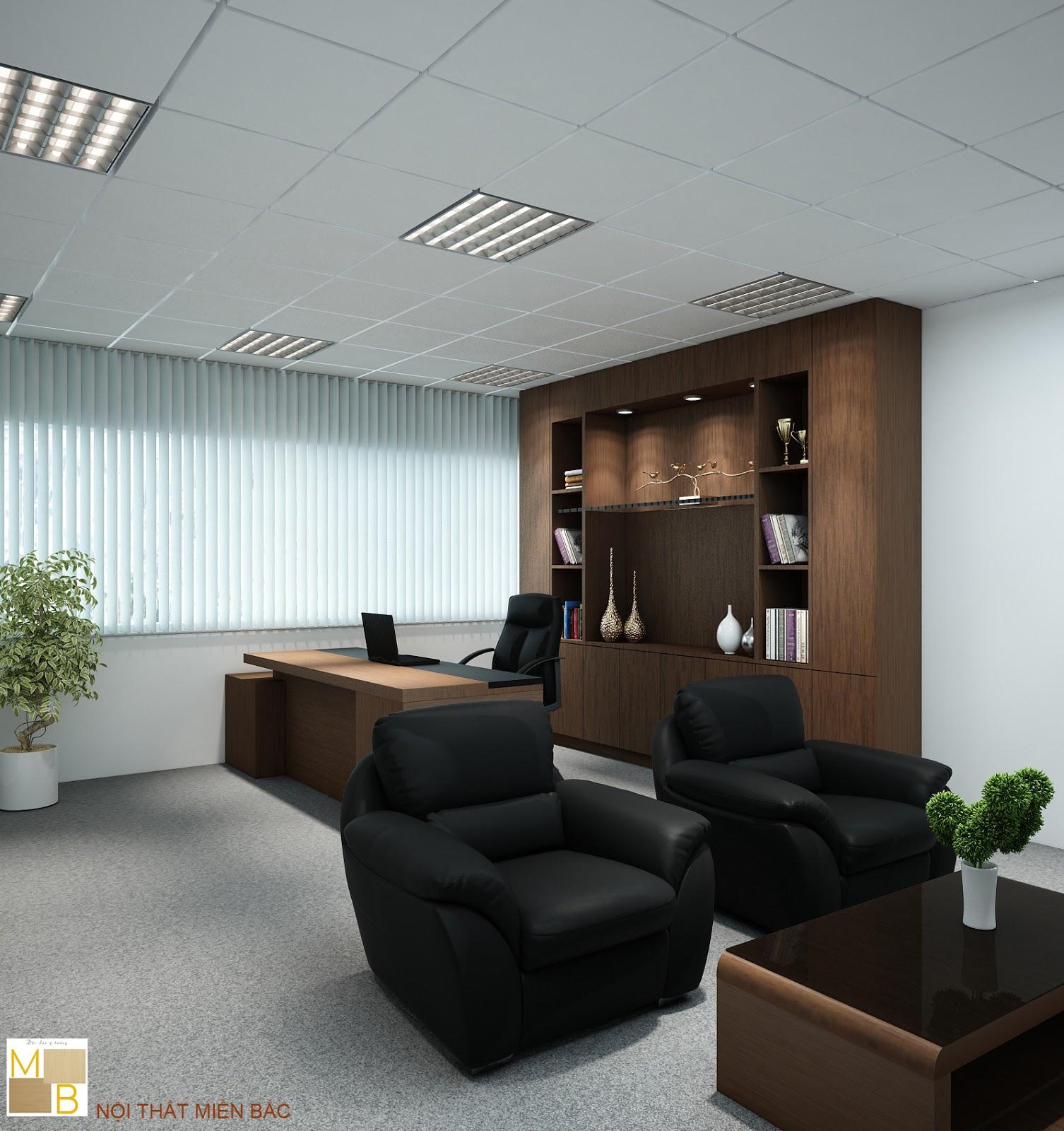Tủ tài liệu văn phòng cao cấp hiện đại cho thiết kế phòng giám đốc