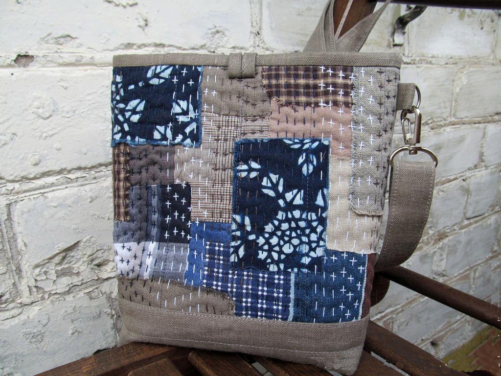 Japanese Boro Bag Tutorial Diy Tutorial Ideas