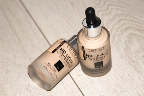 Review Catrice HD Liquid Coverage Foundation