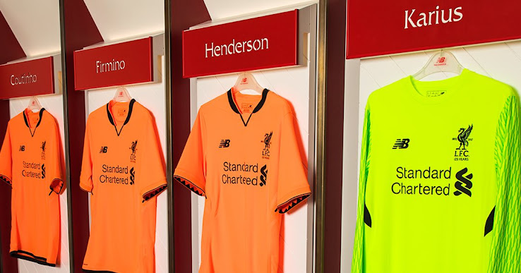 on sale 3915e b2ffa Liverpool 17-18 Third Kit Released - Footy Headlines