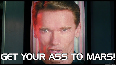 Arnold Schwarzenegger - Get your ass to Mars (Total Recall, 1990)