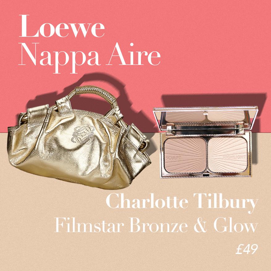 Loewe Nappa Aire or Charlotte Tilbury Filmstar Bronze & Glow?