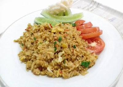 Resep Cara Membuat Nasi Goreng Sambal terasi