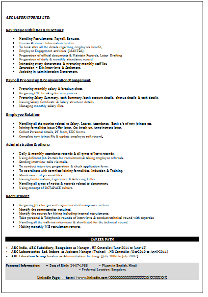 Download Resume Format Write The Best Resume Over 10000 Cv And Resume Samples With Free Download