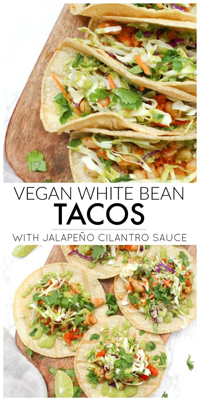 White Bean Tacos