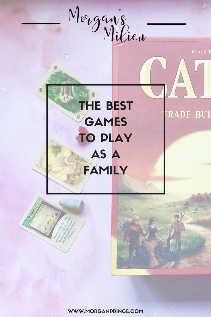 The best games to play as a family, including our favourites.