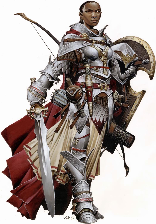 Ninja-Elbow: Neo Grognard : Pathfinder - archer paladins
