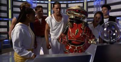 Power Rangers O Filme 1995 Cena