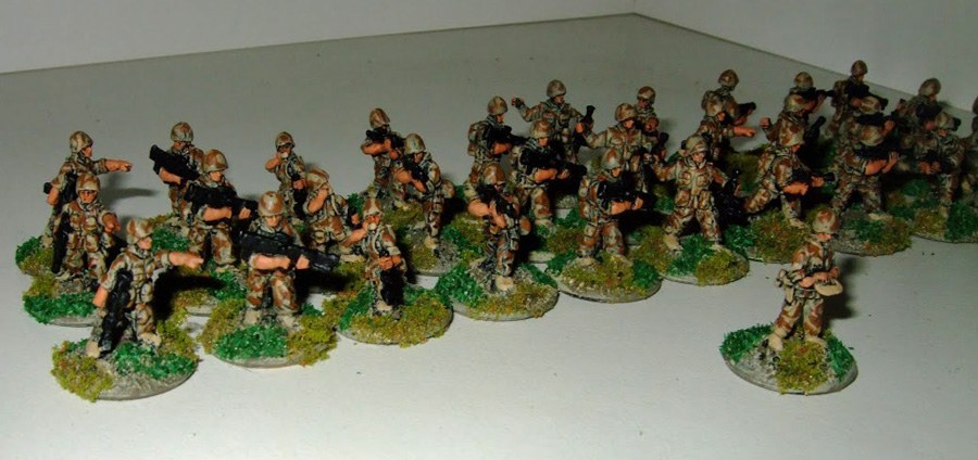 analogue hobbies from franl 28mm f iw french regiment. Black Bedroom Furniture Sets. Home Design Ideas