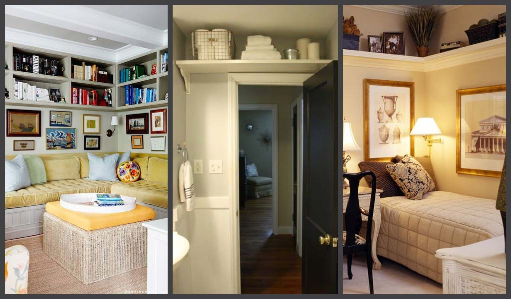 10 Creative Examples For Dividing Small Spaces: 10 Creative Ways To Add More Storage Space To A Small Home