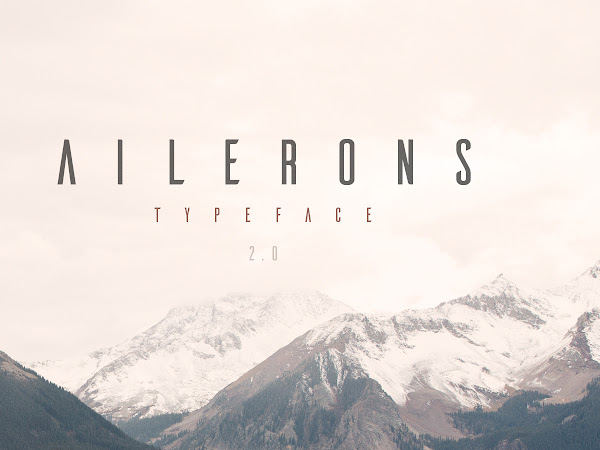 Download Ailerons Typeface Free