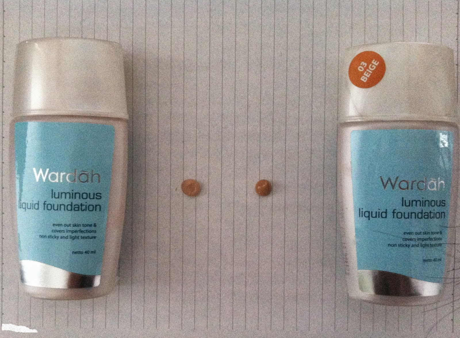 Beauty And Lifestyle: Wardah Luminous Liquid Foundation Review