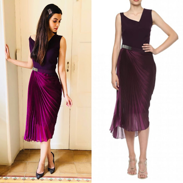 Diana Penty in Amit Aggarwal and Louboutins