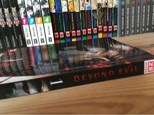 Rezension/Review zum Manga Beyond Evil