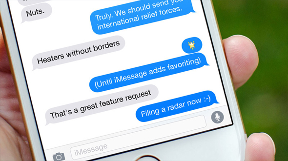 iMessage is hacked, iMessage