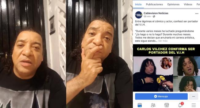 Difunden información falsa sobre estado de salud de Carlos Vílchez y este amenaza con encerrar a los responsables| VÍDEO Y FOTO