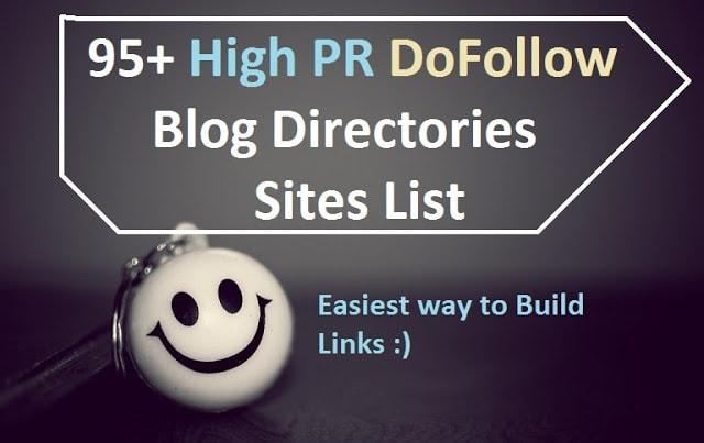 High PR Dofollow Blog Directory Site