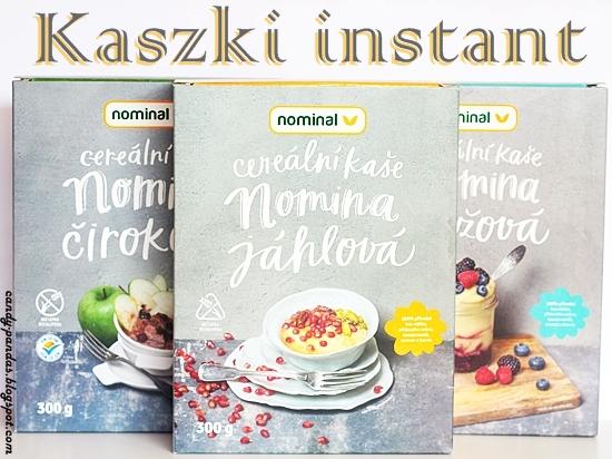 Kaszka instant ryżowa/ jaglana/ sorgo - Nominal (Vegamarket)