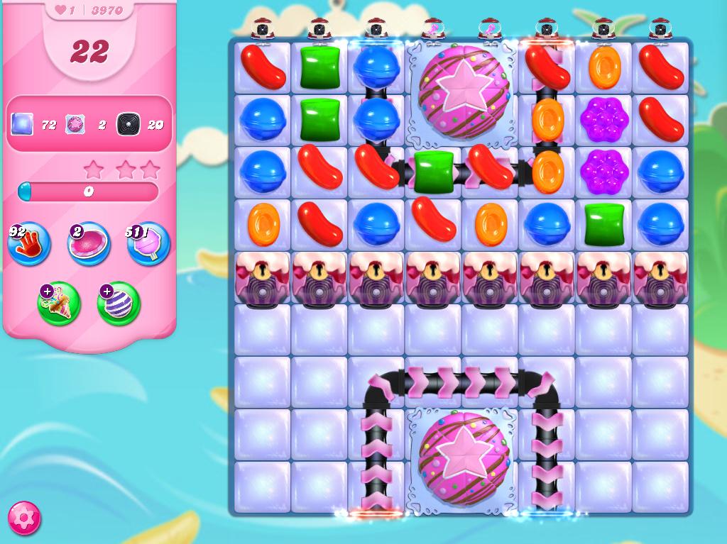 Candy Crush Saga level 3970