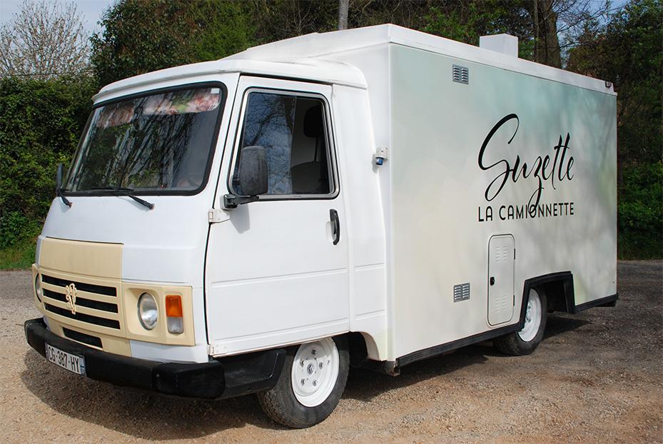 flo et mimolette suzette la camionnette. Black Bedroom Furniture Sets. Home Design Ideas