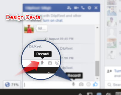 How to Send Audio Messages in Facebook like Whatsapp?