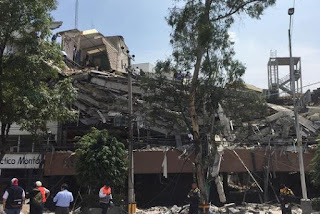 Dozens killed as powerful earthquake jolts Mexico